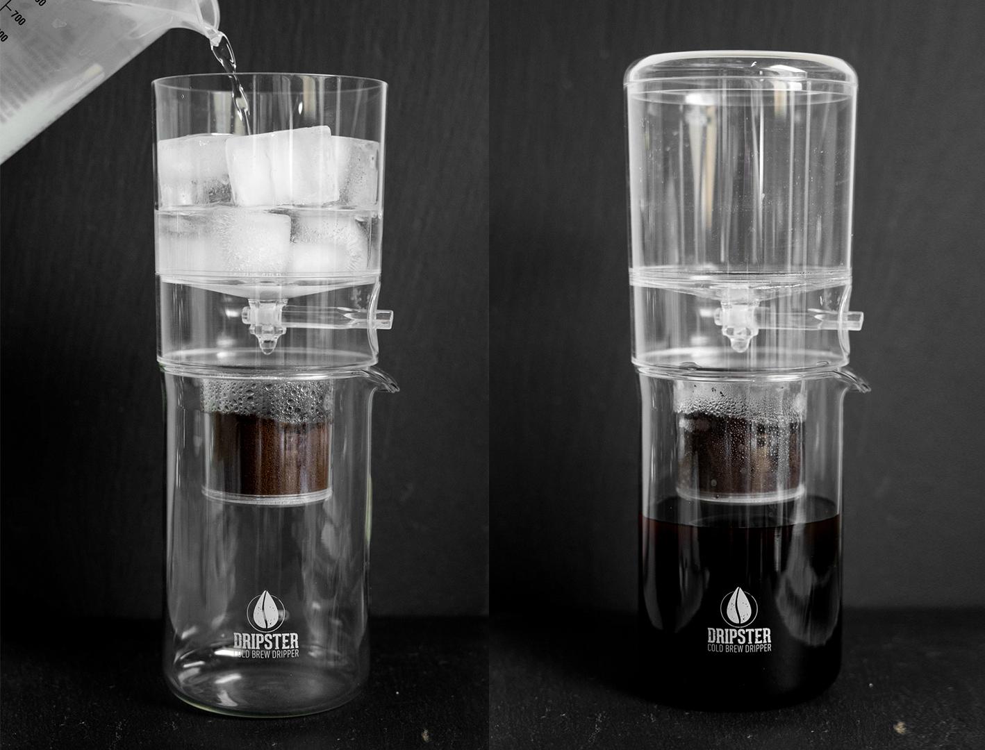 Cold Brew Coffee selber machen - mit dem Cold Brew Dripper ...