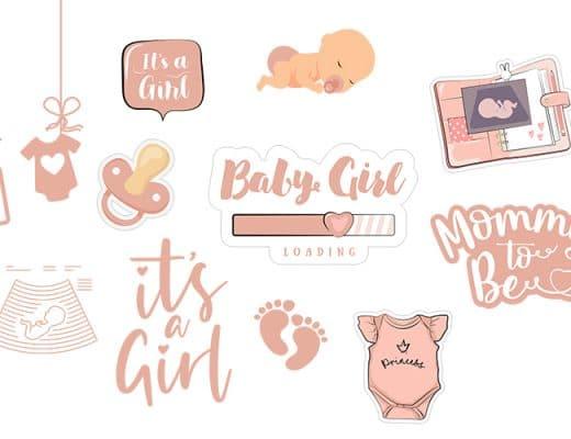 Babygirl-gifs-instagram-story-schangerschaft-pregnancyl